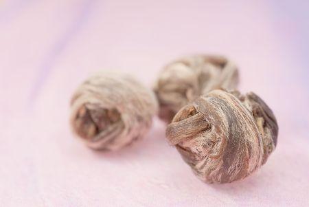 Green tea- dry herb Stock Photo - 5255480