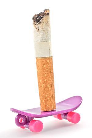 habit: The habit of smoking