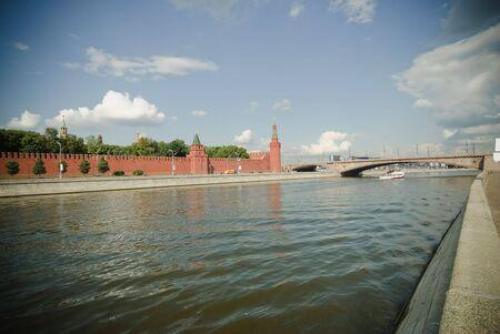 spassky: Big Moskvoretskaya the bridge- next to the Kremlins Spassky Gate