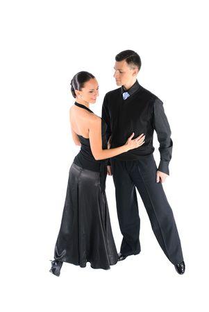 Dance couple- dancing and sports Reklamní fotografie