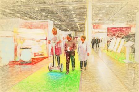 art exhibition: Art exhibition