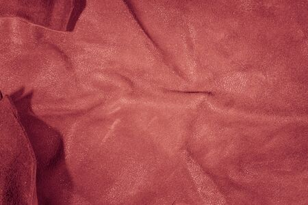 tinge: Background of the skin in different colors and shades. Prefabricated factory for sewing leather goods Stock Photo