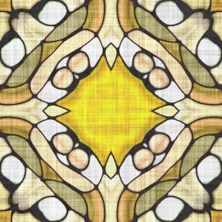 Sacred geometry- ornament mosaic. Mandala- artistic illustration. Abstract kaleidoscope- wall decor.  To print using napkins and tablecloths