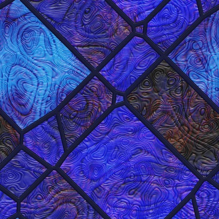 Wall art- nature. Stained glass- abstract pattern. Art decor- metal grille.