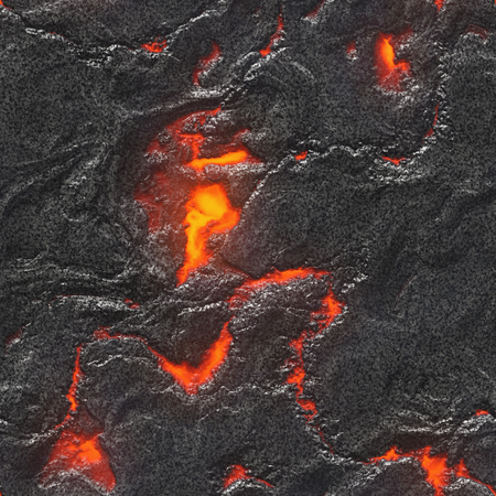 Red hot metal background- liquid nature pattern. Melted iron texture- abstract detail.