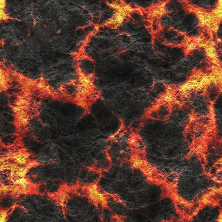 Burning coals- hot surface. Abstract natural pattern- glow faded flame. Stock Photo