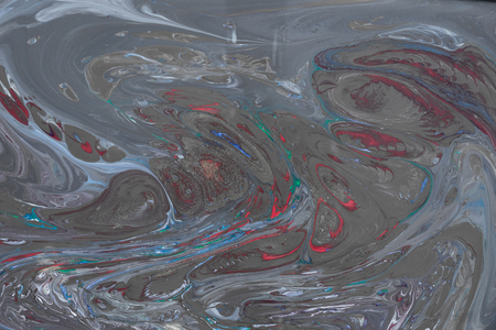 Fluid Art- liquid ink pattern. Acrylic paint- acrylic paint to create picture of any style. Artwork blob swirl- creative stain. Creating an abstract work- combinations of color, contrasts smooth lines Stock fotó