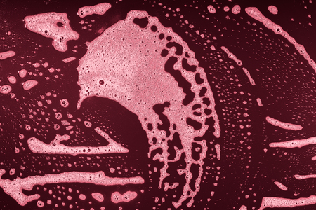 Drops- liquid foam. Fluid aqua- abstract pattern nature. Background- cleansing wash. Shampoo bubbles- soapy water
