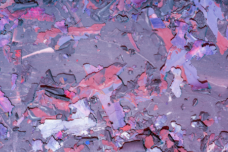 Destroyed texture- old acrylic paint. Crackle surface- abstract pattern