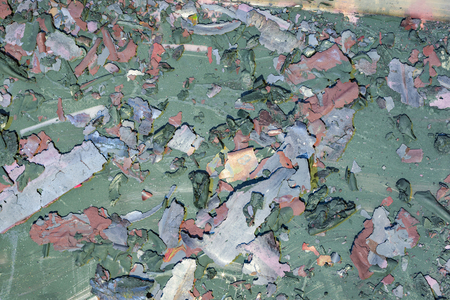Background weathered paint cracked- destroyed texture. Distress surface- abstract pattern 版權商用圖片 - 121592696