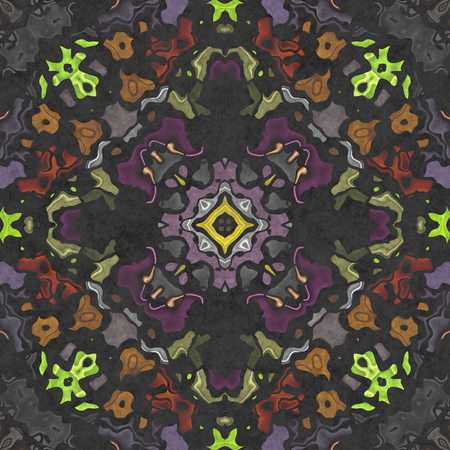 Fabric Luxuriant. Textile ornate- seamless shape. Paper napkin, ornamental carpet. Tablecloth- textile geometric. Illustration cloth- pattern abstract.