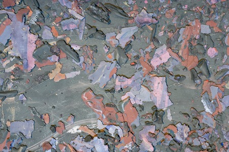 Background weathered paint cracked- destroyed texture. Distress surface- abstract pattern