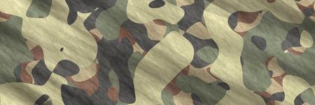 Seamless illustration- texture background. Pattern abstract- camouflage design. Spots on fabrics- camo textile. Geometric art- uniform hunt Imagens