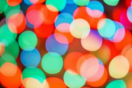 Background abstract- bokeh blurry. Defocused- festive party. New Year- beautiful spark.