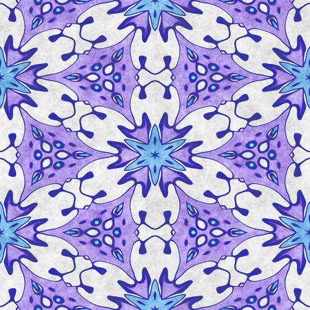 Snowflake background- crystal seamless shape. Illustration decor