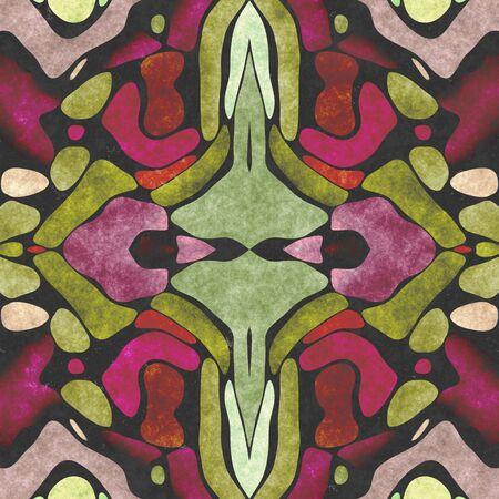 Textile ornate- seamless shape. Paper napkin, ornamental carpet. Tablecloth- textile geometric. Illustration cloth- pattern abstract. Reklamní fotografie