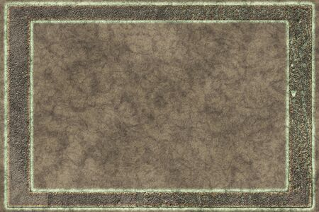 Vintage metal work- 3D illustration. Abstract texture- iron grunge. Background weathered- wall design Stock fotó