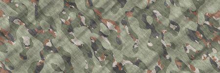 Seamless illustration- texture background. Pattern abstract- camouflage design. Spots on fabrics- camo textile. Geometric art- uniform hunt 스톡 콘텐츠