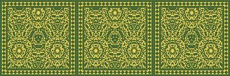 Tile glaze mosaic seamless- ceramic wall. Design background room- art decoration. 3d illustration- ornament pattern. Granite art- invitation template. Reklamní fotografie