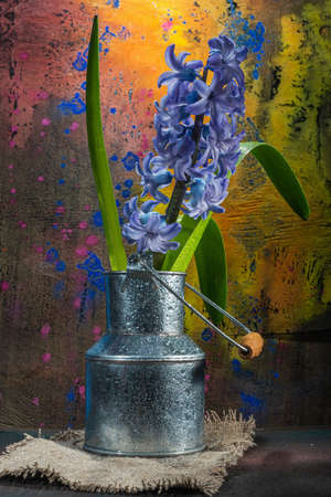 Still life flowers. Kitchen still- photo used for printing on large format canvas