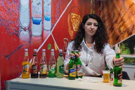 MOSCOW, RUSSIA - FEBRUARY 10-14: PRODEXPO 2020. International Exhibition Food