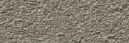 Destroyed metal wall- industry textured. Background texture- weathered iron. 3d illustration