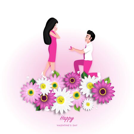 Spring Sale Off Background with Colorful Daisy Flower Blossom Design Vector 版權商用圖片 - 134581991