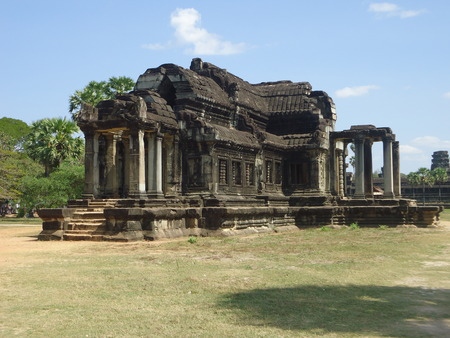 castel: A ancient castel in Angkor wat
