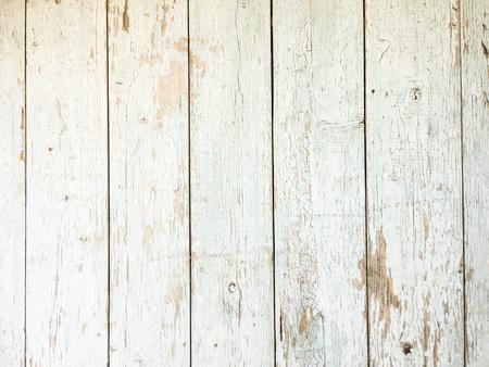 White Organic Wood Texture. Light Wooden Background. Old Washed Wood. Standard-Bild