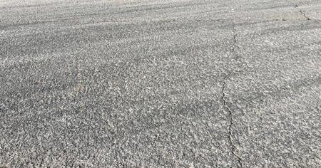 asfaltweg. lege snelweg. asfalt weg bovenaanzicht achtergrond