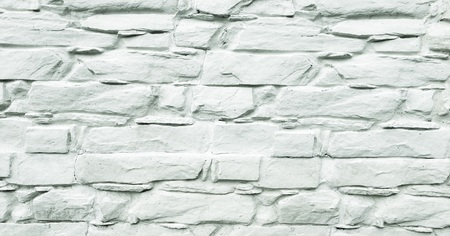 Stone wall background. White painted stone wall texture as background. Wood background wall painting Stock Photo