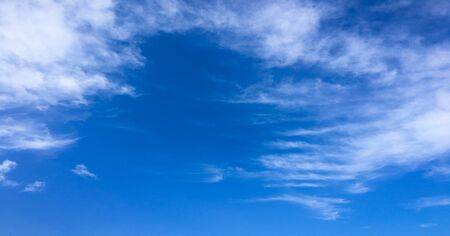 beautiful blue sky with clouds background.Sky clouds.Sky with clouds weather nature cloud blue.Blue sky with clouds and sun Stok Fotoğraf