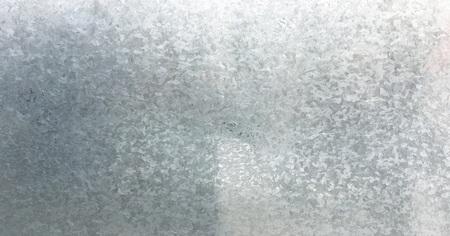Zinc galvanized grunge metal texture. Old galvanized steel, zinc metal texture background. Close-up of a galvanized gray zinc plate texture background Stock Photo