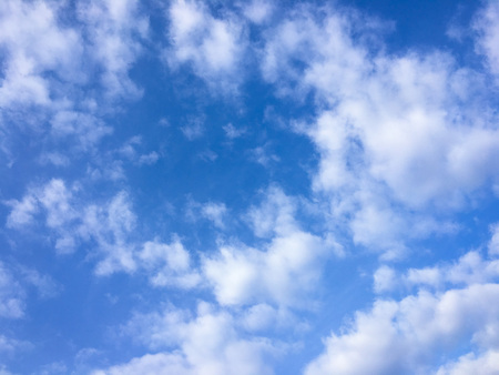 beautiful blue sky with clouds background.Sky clouds.Sky with clouds weather nature cloud blue.Blue sky with clouds and sun. 스톡 콘텐츠