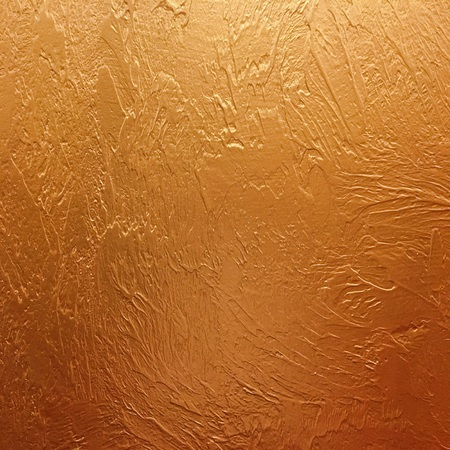 gold background paper, texture is old vintage distressed solid gold color with rough peeling grunge paint on edges