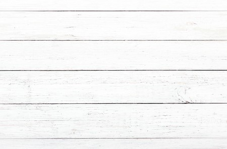 wood texture background, light oak of weathered distressed rustic wooden with faded varnish paint showing woodgrain texture. hardwood white planks pattern table top view Stock Photo