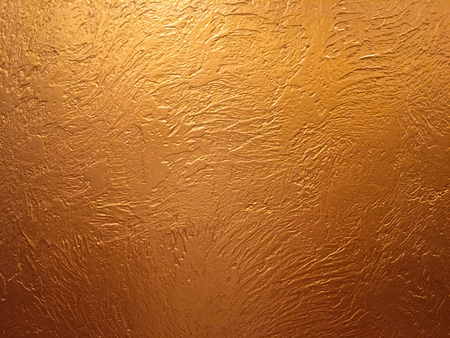 Gold background or texture and gradients shadow. Gold background paper, texture is old vintage distressed solid glitter gold color with rough peeling grunge paint on edges