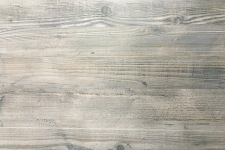 wood texture background, dark weathered rustic oak. faded wooden varnished paint showing woodgrain texture. hardwood washed planks pattern table top view. Stock Photo