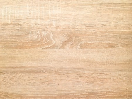 wood texture background, light weathered rustic oak. faded wooden varnished paint showing woodgrain texture. hardwood washed planks pattern table top view. Banque d'images - 111713835