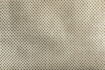 Beige artificial Leather background texture. Closeup of seamless white Leather texture background