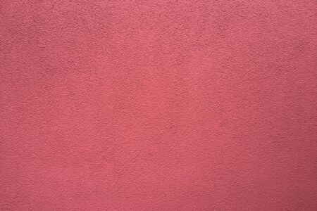 Empty red concrete wall, clean texture background surface