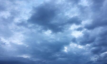 thunder clouds, sky blue background. cloud blue sky 版權商用圖片
