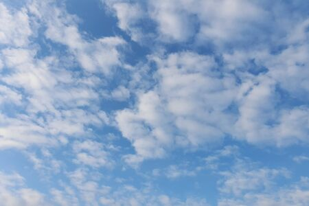 clouds sky, blue background. cloud blue sky and sun