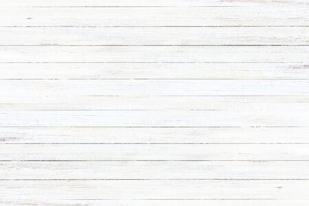 Textura de fondo de madera vieja lavada en blanco Foto de archivo