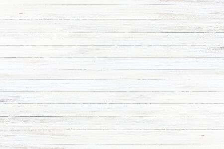 white washed old wood background texture, wooden abstract textured backdrop Stock Photo