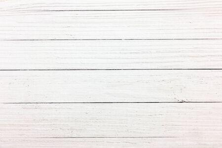 weiß getünchtes Holz Hintergrundtextur, hölzerne abstrakte strukturierte Kulisse Standard-Bild