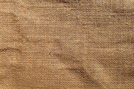 brown burlap jute canvas texture background Stock Photo