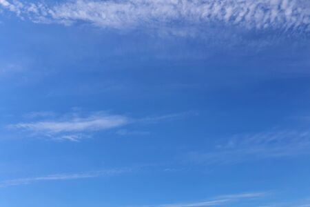 white clouds on blue sky background, design elements