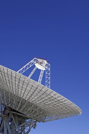 Parabolic antennas in Robledo de Chavela, Madrid, Spain