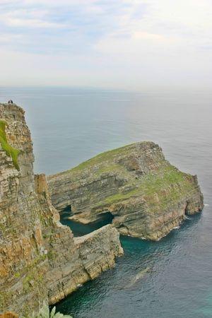 cantabrian: Cliff at the Cantabrian coast, Asturias, Spain